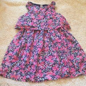 Floral girls dress